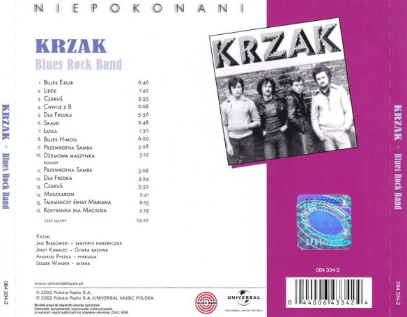 Krzak - Blues Rock Band 04